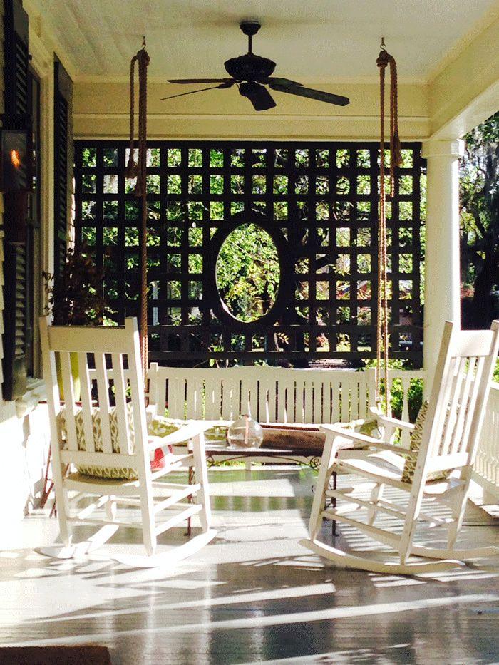 wicker rocking chairs barcelona chair cognac pinterest • the world's catalog of ideas