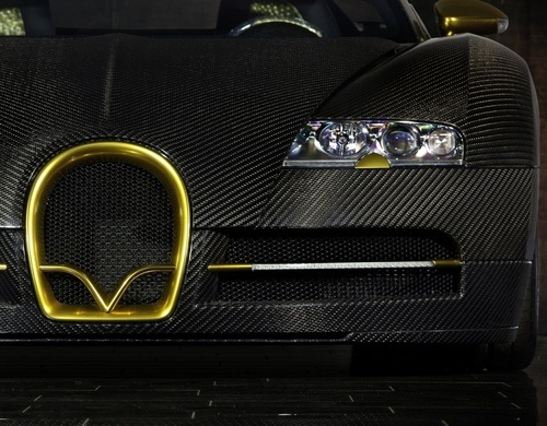 Buggati Veyron  By: Mansory I think