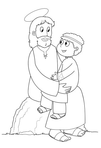 Jesus loves me, Jesus loves and Coloring pages on Pinterest