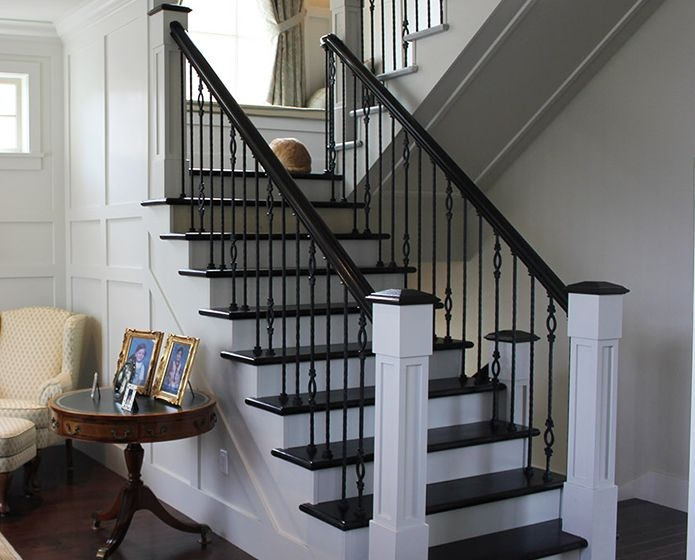 Wood Railings For Interior House Home With Quality | Internal Staircase Railing Designs