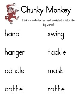 10 best images about Chunky monkey activities on Pinterest