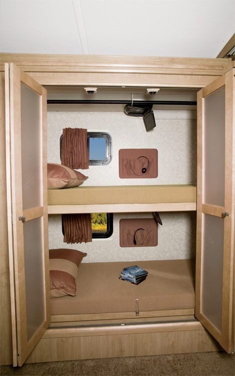 Diy Elevated Desk 73 Best Images About Rv Bunks On Pinterest | Campers
