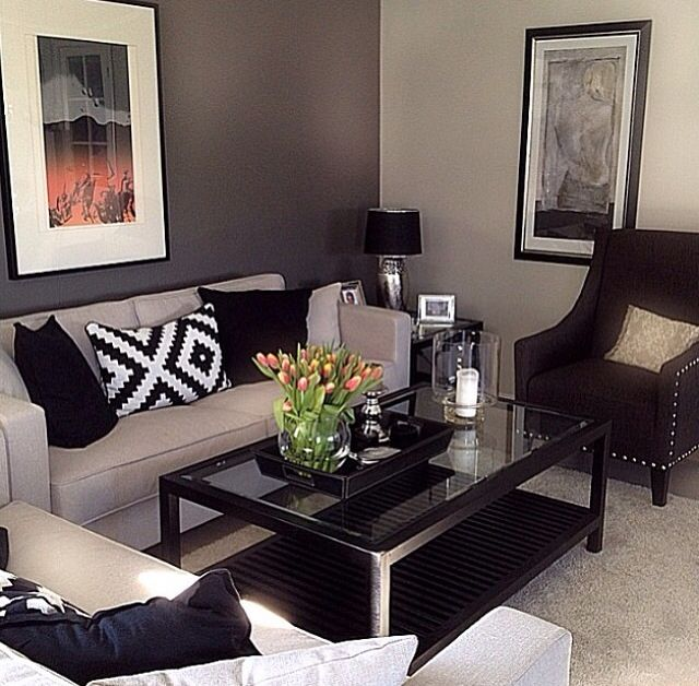 arrange living room furniture small apartment ceiling fan size for sala pequeña | hogar pinterest rooms, and ...