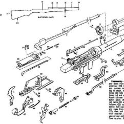 M14 Parts Diagram Volvo Xc90 2006 Wiring M1 Garand | Exploded View Wwii Weapons Pinterest And Manual
