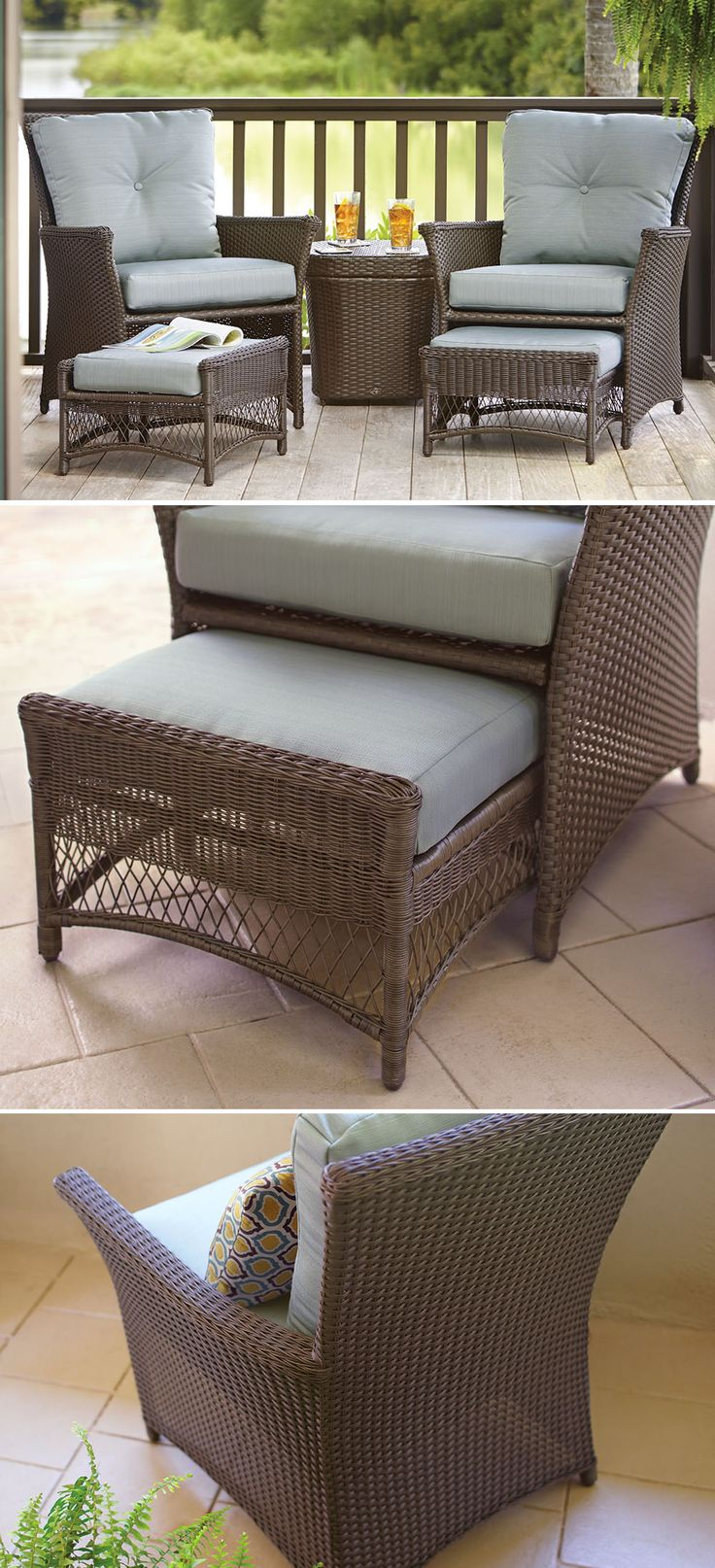 Best 25 Small patio furniture ideas on Pinterest  Apartment patio decorating Small terrace