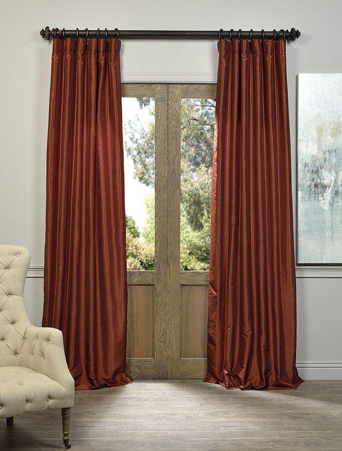 17 Best Ideas About Burnt Orange Curtains On Pinterest Burnt