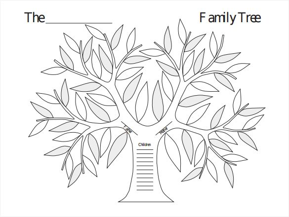 17 Best ideas about Blank Family Tree Template on