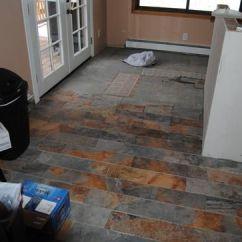 Home Depot Kitchen Floor Tiles Faucet With Soap Dispenser Marazzi Vitaelegante Ardesia 6 In. X 24 Porcelain ...