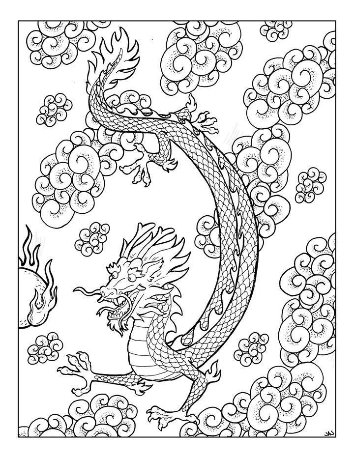 Creative Haven Fantasy Designs Coloring Book Aaron Pocock