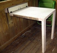 Collapsable Table (Treehouse/Shop) | Pinterest | The ...