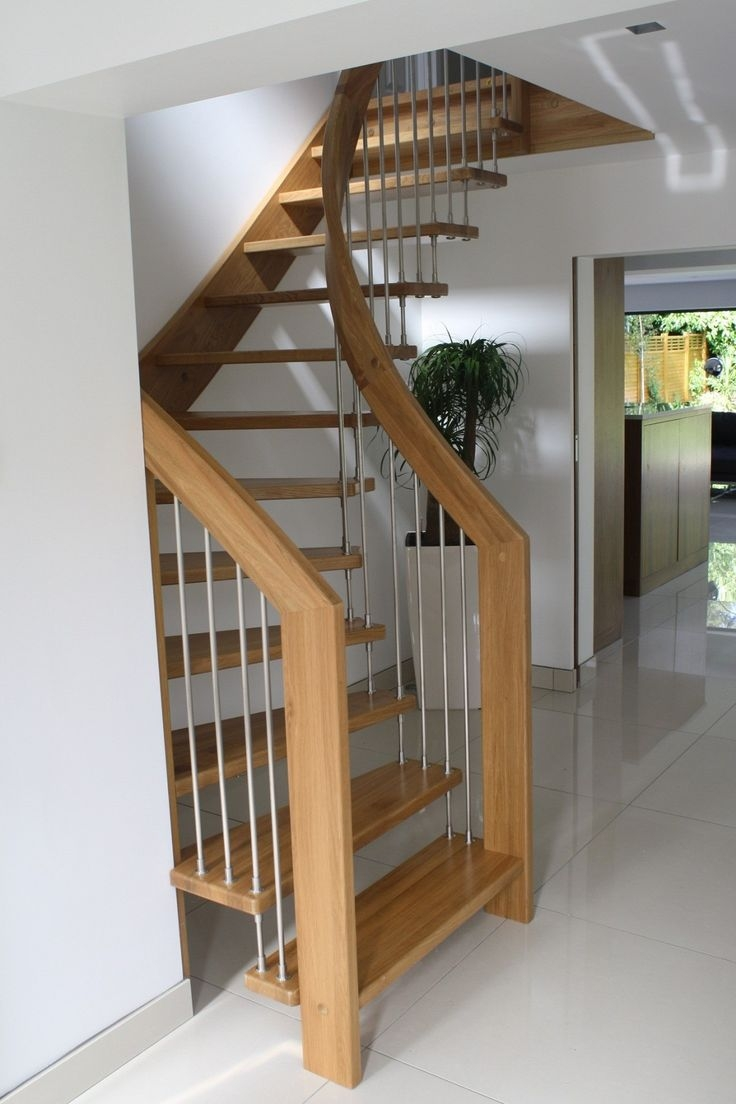 Alluring Design Ideas Of Small Space Staircase With Brown Wooden   Best Staircase Design For Small Space   Traditional   Mezzanine   Stairway   Cabinet   Outdoor