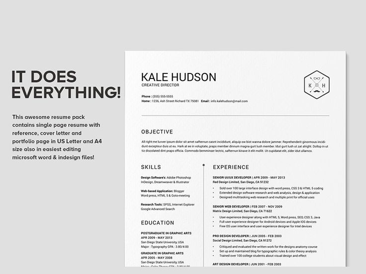 17 Best Images About ? Design Resumes On Pinterest