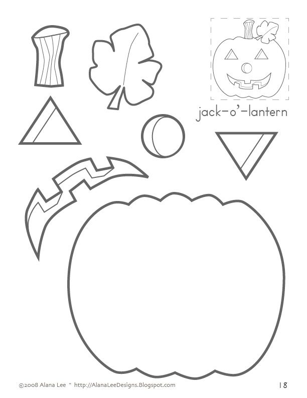 jack-o'-lantern...sequencing, following directions