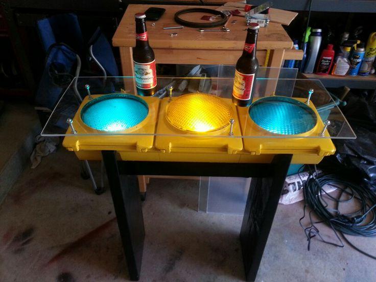Traffic light table  Things I love  Pinterest  Light