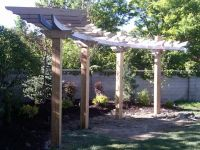 25+ best ideas about Curved pergola on Pinterest ...