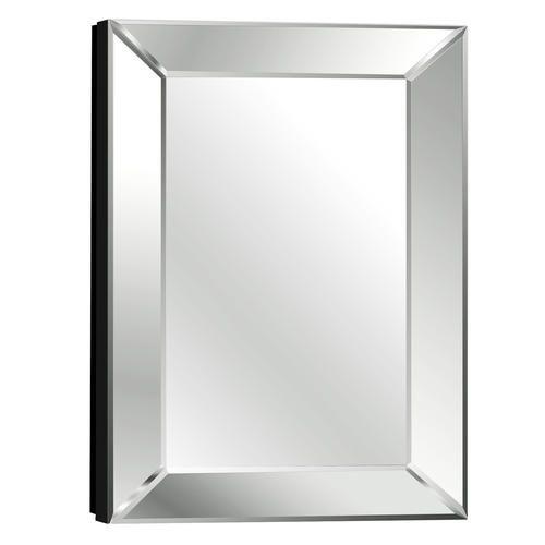 Pace 18 Mitered Beveled Mirror Medicine Cabinet  18 W x