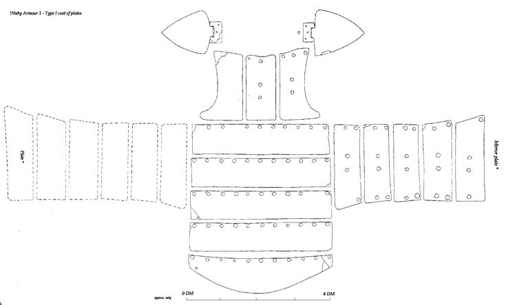 17 Best images about armour templates on Pinterest