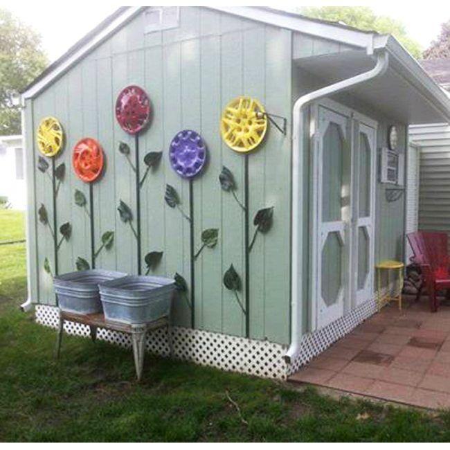 25 Best Ideas About Yard Art On Pinterest Diy Yard Decor