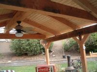 patio roof pergola | Pin Patio Cover Roof Plans Images ...