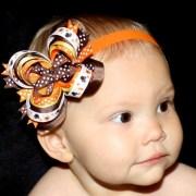 thanksgiving hair bows- idea