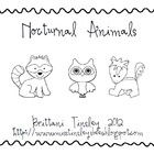 1000+ images about Preschool: Nocturnal Animals on Pinterest