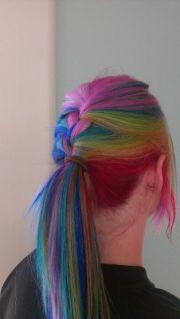 1000 ideas rainbow hair