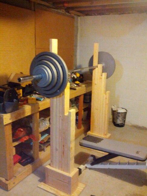 homemade squat racks lovequilts