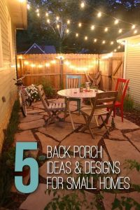 25+ best ideas about Small back porches on Pinterest ...