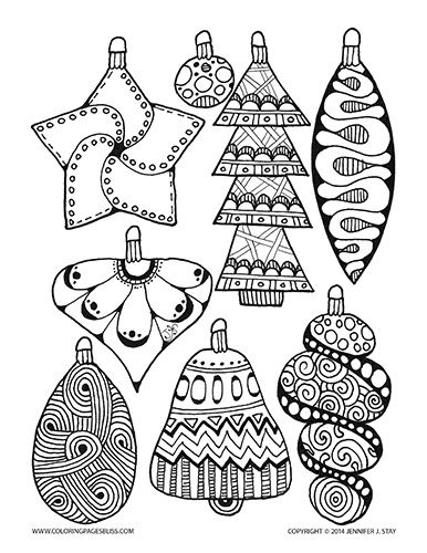 17 Best images about Zentangle Christmas on Pinterest
