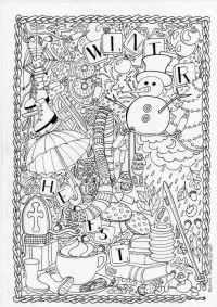 mumsboven: tekeningen | Adult coloring | Pinterest | Blog ...