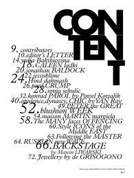 82 best images about Magazines: contents page designs on