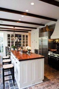 Best 25+ Brick Floor Kitchen ideas on Pinterest | Brick ...