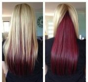 ideas two color hair