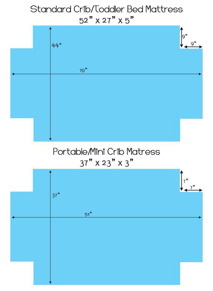 Crib Sheet Sewing Pattern