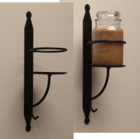 Wrought Iron Candle Holder Wall Sconce | Candles & More ...