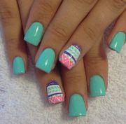 ideas tribal nails