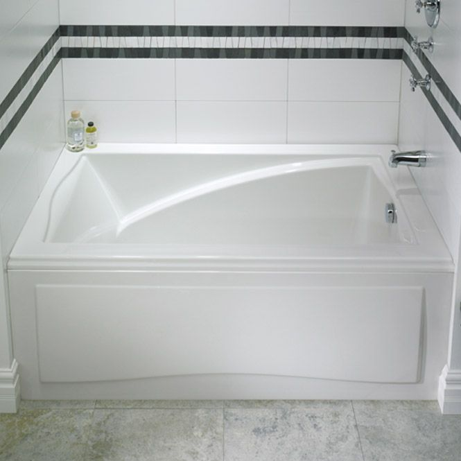 Alcove Tub With Style An Alcove Style Bathtub With