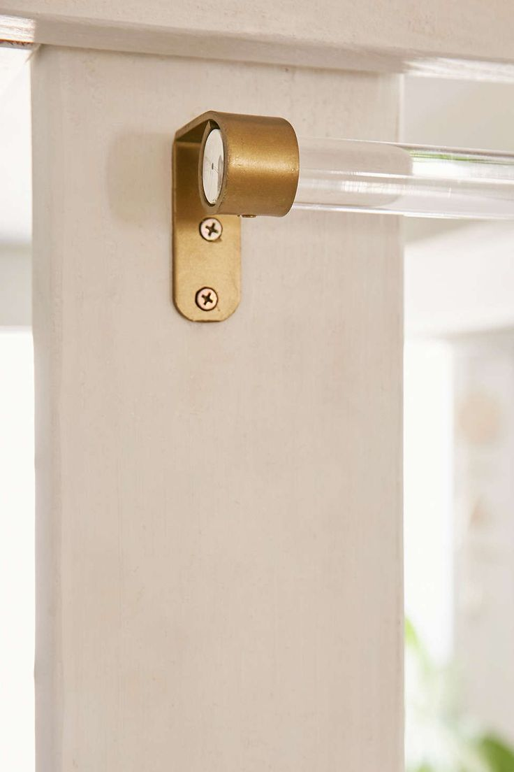 Assembly Home Acrylic Curtain Rod  Twin Awesome stuff