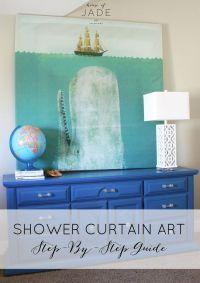 Best 25+ Shower curtain headboard ideas on Pinterest ...