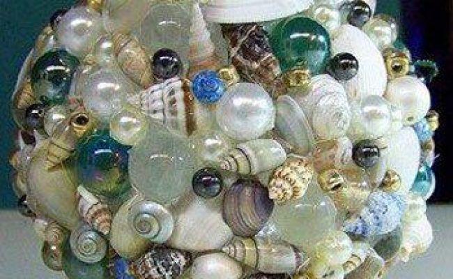 How To Make A Seashell Deco Sphere Home Going Coastal