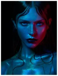 gel colours | FACES | Pinterest | The silk, Portrait and ...