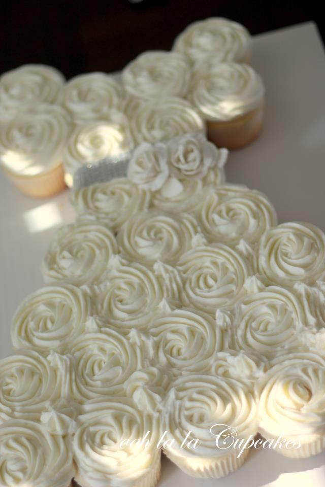 firstcommunionpartydecorationsideas  First Communion Cupcake Cake  party ideas  First
