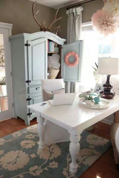 shabby chic home office ideas 25+ best ideas about Shabby Chic Office on Pinterest | Shabby chic, Chic office decor and Fake
