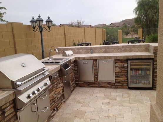 1000 ideas about Outdoor Barbeque Area on Pinterest