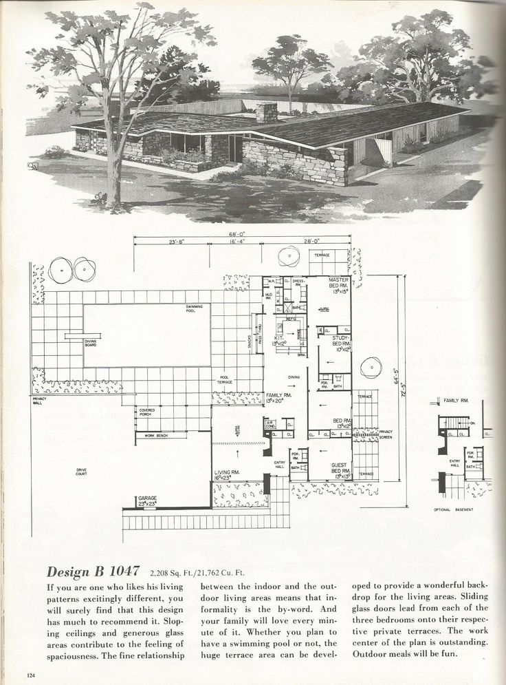 1000+ images about House Plans: Vintage on Pinterest