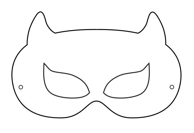 25+ best ideas about Batman mask template on Pinterest