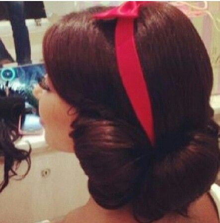 Snow White Hairstyle Makeup & Hair Styles Pinterest Her