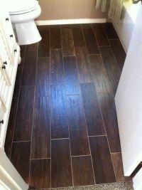 Bathroom Ideas:Wood Look Tile Bathroom Floor Luxurious ...
