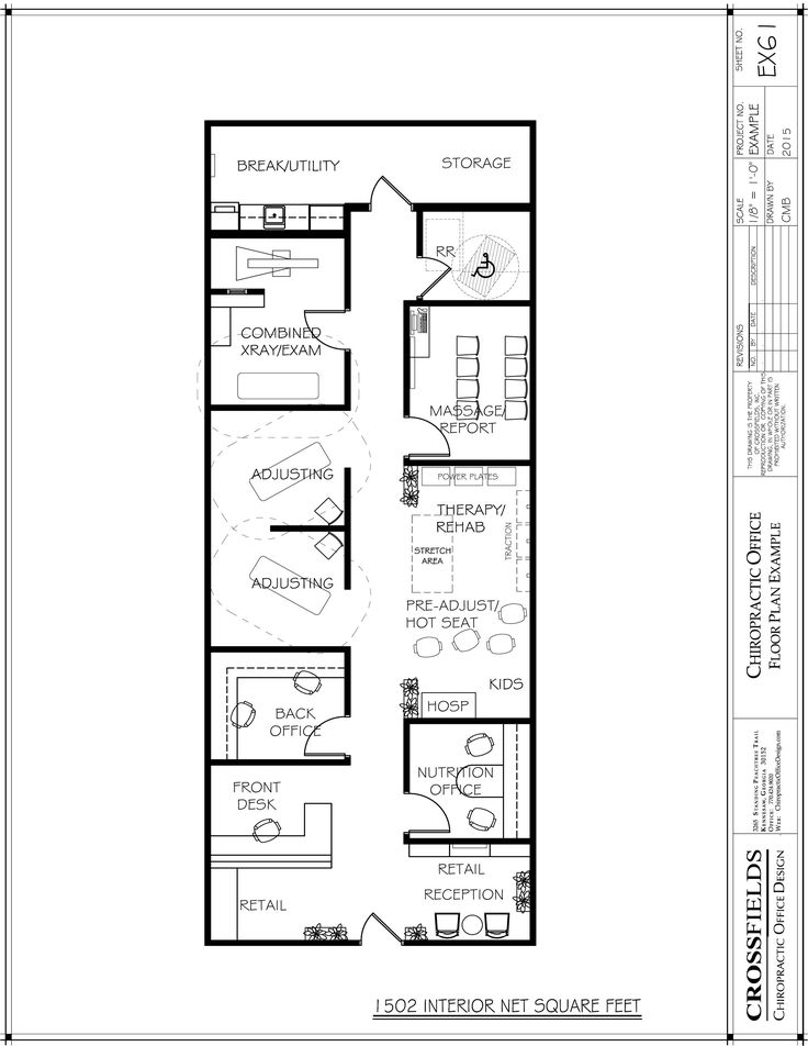 78 Best images about Chiropractic Floor Plans on Pinterest