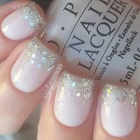 25+ best ideas about Wedding day nails on Pinterest